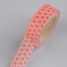 Efco Creative Tape Mandala Rouge 15 mm 10 m