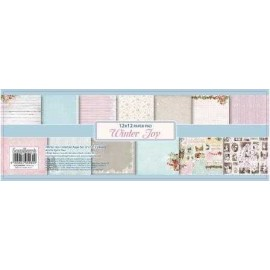 ScrapBerry's - Set Papier 12*12 Winter Joy