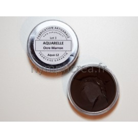 Aquarelle Ocre Marron